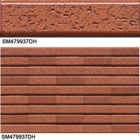 decorative interior & exterior edge trimmed porcelain wall tiles for home & house construction