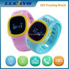 Kids Wrist Watch Unlocked Cell Phone/ GPS Tracker /GSM GPS SOS Wrist Watch smart phone