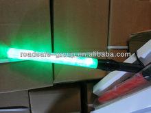 New Safety Yellow 6 LED Traffic Control Hand Held Signal Baton Wand Light