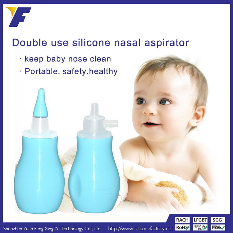 how to use aspirator for baby nose