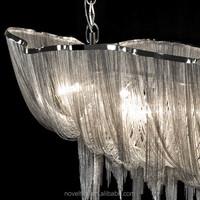Atlantis Suspension Light - Long Fancy big pendant light for lobby