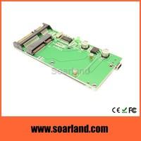 Bootable msata mini pci-e to 2.5 sata combo adapter