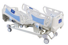 Five-function electric safe and easy using nursing bed