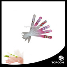 High quality painting glass nail file