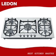 LD5S14 SS built-in 5/ five burner gas cooker/gas stove/gas cooktop
