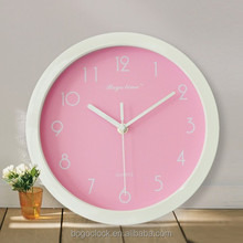 Home decor wall clock for home decoration items