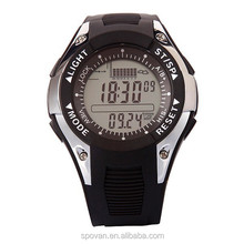 Factory direct sale new fashion large display digital watch digital video watch driver digital fishing barometer watch