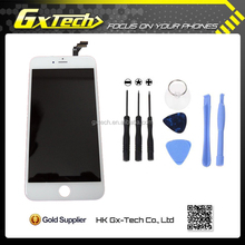 Original Foxconn LCD for iphone 6 plus LCD Screen Display with Touch Screen Digitizer Replacement White Black DHL