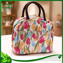 floral pattern women promotional shopping bag