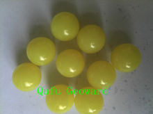 Neon yellow, 0.68'' paintball for training