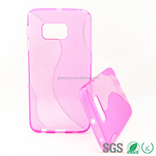 Alibaba express TPU case soft cell phone pouch S line phone tpu case For Samsung Galaxy S6 G925