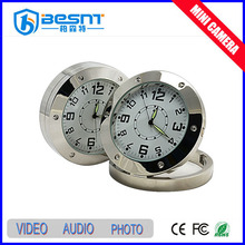 2015 Hotsale Security System Wireless Remote Control Table Hidden Clock Digital Camera with Motion Dection (BS-774)