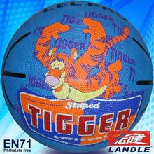 Photo customized hot sale wholesale rubber made Official Size 5 American basketball
