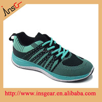2015 insgear shoes factory new trendy flyknit men autumn run shoes