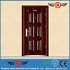 JK-S9236 Safety Entrance Door Design with Grill / Iron Gate Door Price
