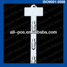 plastic clip strip for retail