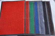 Brand colorful striped carpet pvc backing