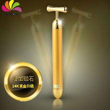 2015 Beauty bar 24K golden for face care facial Wrinkles thin face