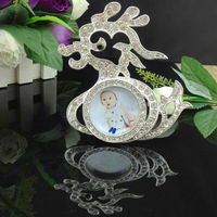 Wholesale Animal-shaped Funny Photo Frame Baby/Kids Photo Frame Mini Size Frames For Pictures