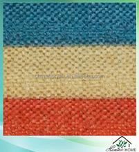 Polyester, Acylic Sofa Fabric / Upholstery Fabric/ Pongee Backing Linen Look Fabric