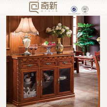 Europe style solid wood kitchen cabinet,kitchen buffet