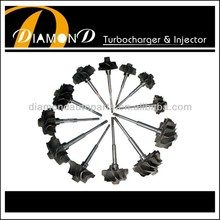 Turbocharger GT1544S 701698-0003 turbo wheel shaft wheel and turbine wheelfor 701729-0001 701729-0003 for Audi/Volkswagen