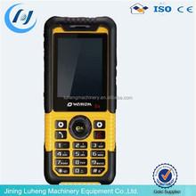 anti-dust anti-water anti-shock 3G three proof mobile phone made in China