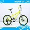 "China popular 20"" Aluminum Alloy 21speed MTB bike racing bicycle price"