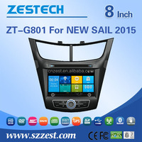 For Chevrolet NEW SAIL 2015 wholesale alibaba car audio fm radios stereo gps dvd player support 3G WiFi DVR SWC BT