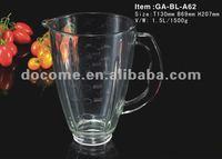 1.5L black and decker Blender refesh Glass Jar GA-BL-A62