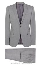 Dos homens de luxo fresco lã terno Slim com boa qualidade 2015