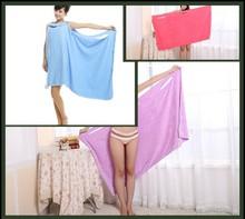 155*85cm magical Microfiber girl bath towel dress soft magic towel bathrobes