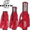 Helix detachable pocket golf bag with push cart wheels /red canvas golf bags with wheels / golf bag parts
