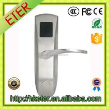 Electronic Swipe key card lock for hotel door ET616RF
