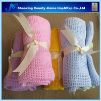 YET CT1 130 Woven Technics 100% cotton soft handmade swaddle baby blanket