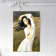 nake girl pictures wall painting