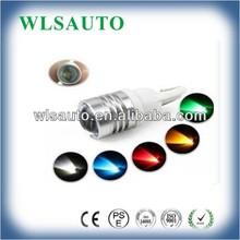 high power CREE T10 bulb W5W led bulb CREE T10 3W