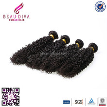 Indian Remy Jerry Curl Hair Weave Beautiful Kinky Hair Weave Direct From China