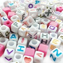 Wholesale Acrylic Jewelry DIY Alphabet Letter Beads