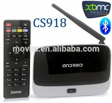 RK3188 Quad core android tv box 500MHz,Mali-400 3D 1.8GHZ SD with IR