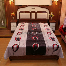Good quality popular satin adults blanket