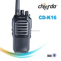 Portable handy talkie transmitter 2 way radio walkie talkie specifications