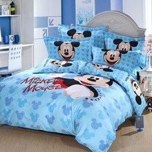 Standard size fashion mickey mouse bedding sets