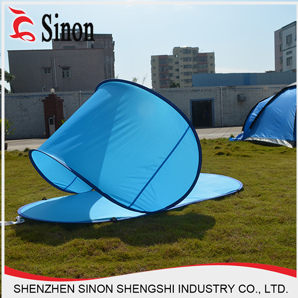 Cheap Camping Folding Beach Sun Shelter Shade Spring Steel Wire Pop ...