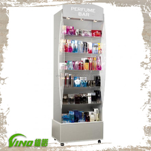 Clear Acrylic Cosmetic Display Cabinet, Cosmetic Showcase, Cosmetic Store Fixture