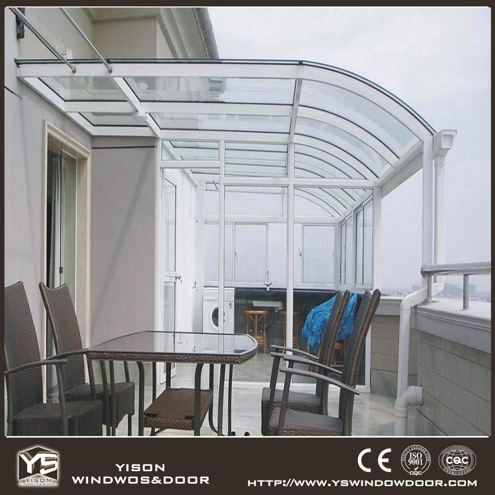 Modular sunroom aluminum glass sunroom prefabricated for Modular sunrooms