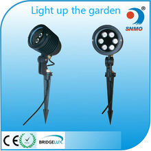 3w 6w 9w 12w ip65 hot sell die casting garden park lawn led lamp