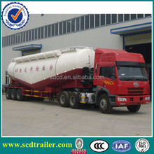 CCC BV ISO confirmed tir-axles 45CBM 50ton Cement tanker with high quality