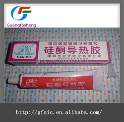 (hot sale) TianMu Good insulation glue thermal conductivity silicone rubber Natural Cure Silicone Sealant
