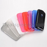 New S Shape Soft TPU Back Cover Case for Samsung G3858 Galaxy Beam 2